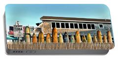 Sloppy Tuna Restaurant, Montauk Long Island Portable Battery Charger by Joan  Minchak