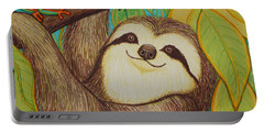 Sloth And Frog Portable Battery Charger