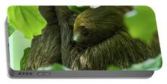 Sloth Sleeping Portable Battery Charger