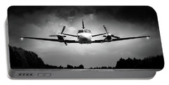 Small Airplane Low Flyby Portable Battery Charger