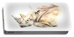 Small Colour Rhino Portable Battery Charger