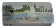 Small Lighthouse One Belmore Basin Portable Battery Charger