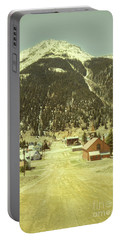 Portable Battery Charger featuring the photograph Small Rocky Mountain Town by Jill Battaglia
