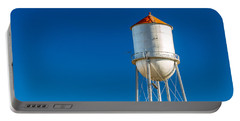 Small Town Water Tower Portable Battery Charger