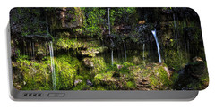 Portable Battery Charger featuring the photograph Small Waterfall by Elena Elisseeva