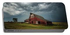 Portable Battery Charger featuring the photograph Smallville by Aaron J Groen