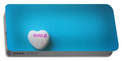 Smile Candy Heart  Portable Battery Charger