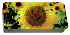 Portable Battery Charger featuring the photograph Smile by Greg Fortier
