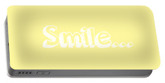 Smile Portable Battery Charger by Inspired Arts