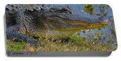 Smiling Alligator Portable Battery Charger