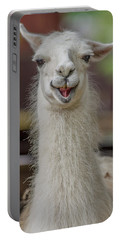 Smiling Alpaca Portable Battery Charger