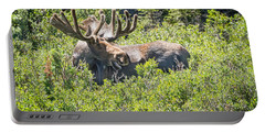 Smiling Bull Moose Portable Battery Charger