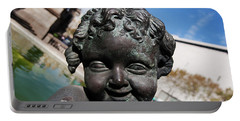 Smiling Cherub Portable Battery Charger
