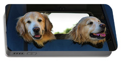 Smiling Dogs Portable Battery Charger