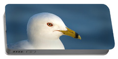 Smiling Seagull Portable Battery Charger by Susan Dimitrakopoulos