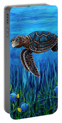 Smirking Turtle Portable Battery Charger