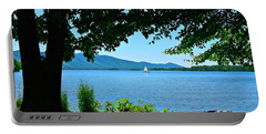 Smith Mountain Lake Sailor Portable Battery Charger by The American Shutterbug Society