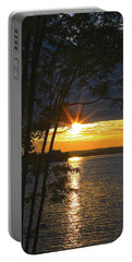 Smith Mountain Lake Summer Sunet Portable Battery Charger