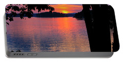 Smith Mountain Lake Sunset Portable Battery Charger