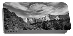 Smith Rock Bw Portable Battery Charger