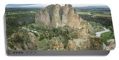 Smith Rock From Misery Ridge Portable Battery Charger