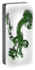 Smoke 01 - Green Portable Battery Charger