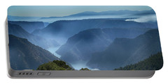 Smoke Over Flaming Gorge Portable Battery Charger