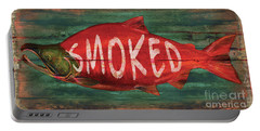 Smoked Fish Portable Battery Charger