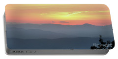 Smokey Mnt Sunset Portable Battery Charger