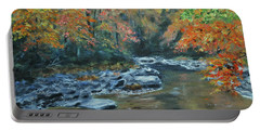 Smokey Mountain Autumn Portable Battery Charger