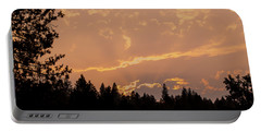 Smokey Skies Sunset Portable Battery Charger