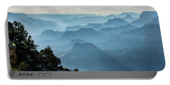 Portable Battery Charger featuring the photograph Smoky Canyons by Steven Sparks