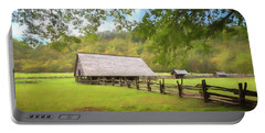 Smoky Mountain Barn Portable Battery Charger