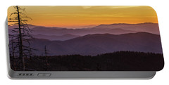 Smoky Mountain Morning Portable Battery Charger