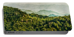 Smoky Mountain Reflections Portable Battery Charger