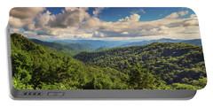 Smoky Mountains Panorama Portable Battery Charger