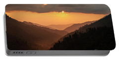 Smoky Mountains Sunset - D010157 Portable Battery Charger