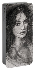 Smoky Noir... Ode To Paolo Roversi And Natalia Vodianova  Portable Battery Charger