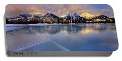 Portable Battery Charger featuring the photograph Smooth Ice by Dan Jurak