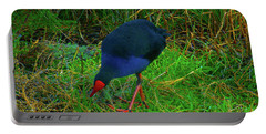 Portable Battery Charger featuring the photograph Snacking by Mark Blauhoefer