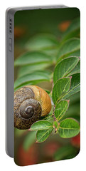 Snail On A Branch Portable Battery Charger