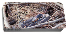 Portable Battery Charger featuring the photograph Snake by Ester Rogers