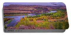 Snake River Fall Beauty  Portable Battery Charger