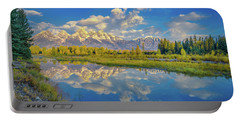 Snake River Reflection Grand Teton Portable Battery Charger