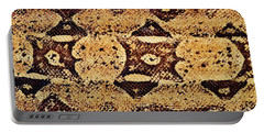 Portable Battery Charger featuring the photograph Snake Skin II by Kathy Baccari
