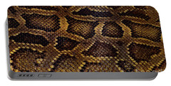 Portable Battery Charger featuring the photograph Snake Skin by Kathy Baccari
