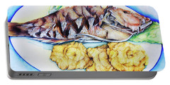 Snapper And Tostones Portable Battery Charger