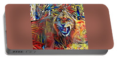 Snarling Lion Portable Battery Charger