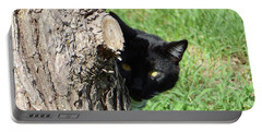 Sneaky Cat Portable Battery Charger