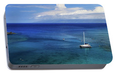 Portable Battery Charger featuring the photograph Snorkeling In Maui by James Eddy